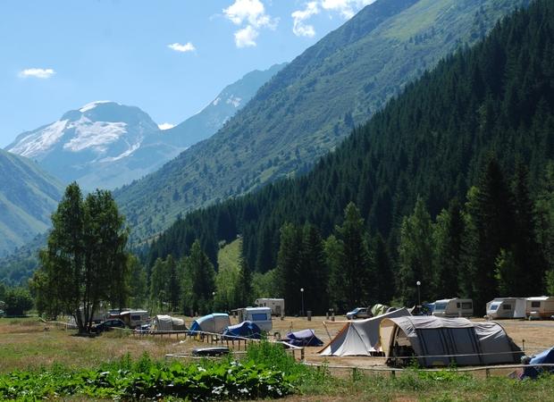 Camping la Canada Champagny le haut